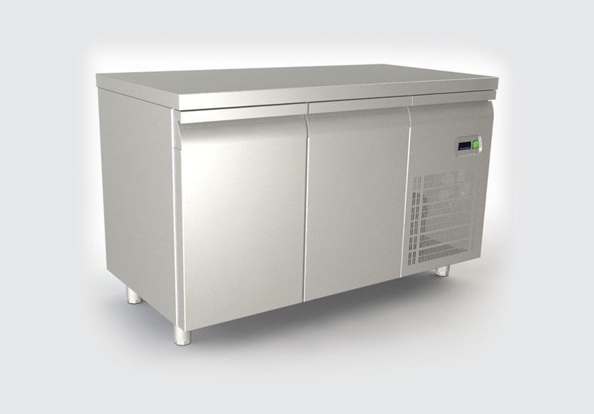 Ψυγείο πάγκος με 2 πορτες και μοτέρ δεξιά