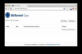 BitTorrent Sync 1